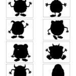 placa monstros – percepção de sombras