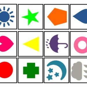 Pareamento para habilidades visuoperceptivas