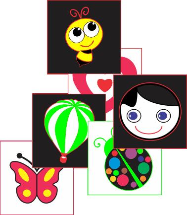 figuras-coloridas-contraste