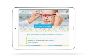 eBook sobre como escolher óculos infantis