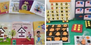 material adaptado para crianças com deficiência visual