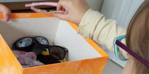 como doar óculos