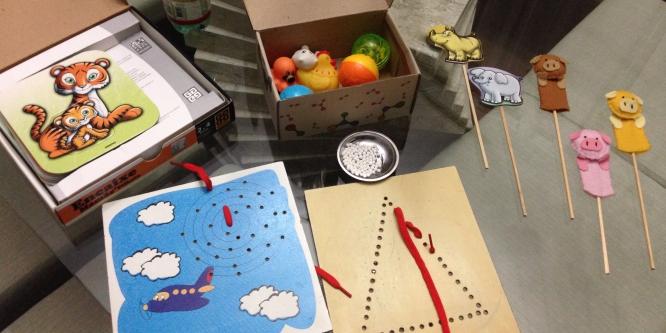 Kit para estimulação visual