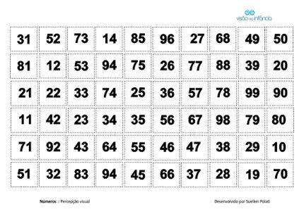 exemplo de placa de pareamento e justaposição - números