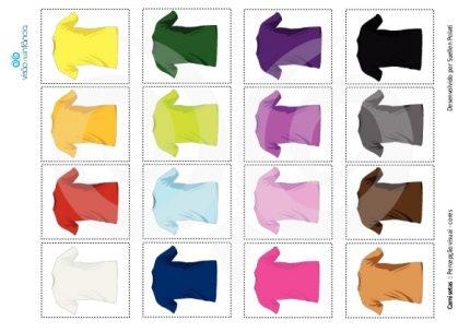 exemplo de placa de pareamento e justaposição - cores